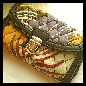 Vera Bradly Quilted Wallet